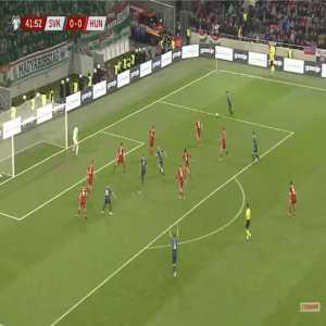 Slovakia 1-0 Hungary - Ondrej Duda 43'