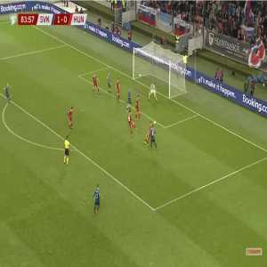 Slovakia 2-0 Hungary - Albert Rusnak 84'