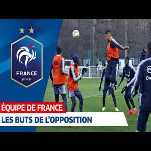 Training and Oppositions - French Football Team