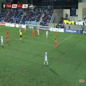 Andorra 0-2 Iceland - Vidar Orn Kjartansson 80'