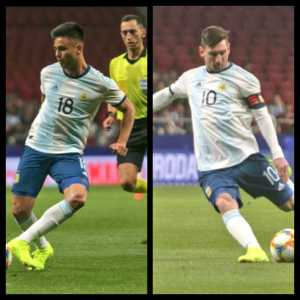 [Argentina NT medical report] Gonzalo Martínez: muscular injury of left femoral biceps. Lionel Messi: Aggravation of bilateral pubic pain. Both players will be unavailable for the next match