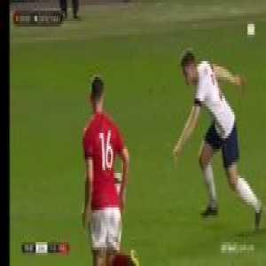 Grabara marvelous save (England U20 - Poland U20)