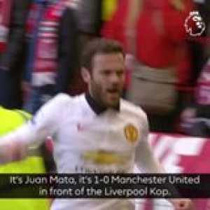 Juan Mata's scissor kick stunned the Kop OnThisDay in 2015