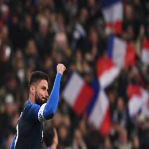 With 34 goals, Olivier Giroud has become the 3rd joint-top goalscorers in France NT's history (level with David Trezeguet). With 27 goals in 68 games, Antoine Griezmann has reached the 9th spot (level with Karim Benzema's 27 in 81.)