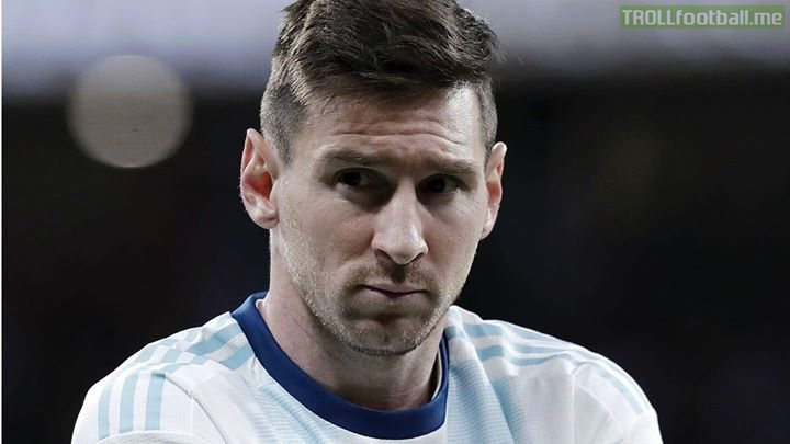 "Argentina coach: ""give me messi and 10 pieces of wood and I'll give you 11 pieces of wood"""