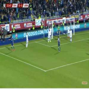 Bosnia & Herzegovina 1-0 Armenia - Rade Krunic 33'