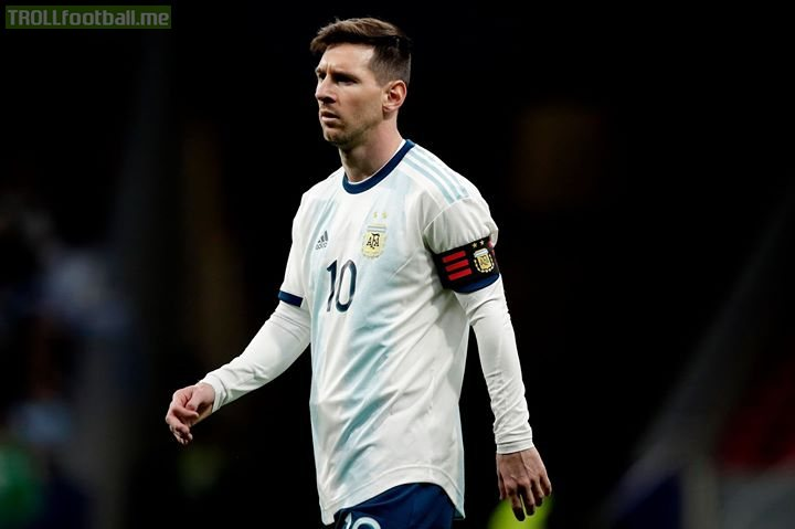 """*BREAKING NEWS*   Messi will not play in Argentina next friendly vs Morocco on Tuesday. Messi is withdrawn from Argentina squad due to a bilateral """"Secret Injury"""". Messi will return back to Barcelona.   These Secret Injuries Are Just Ruining Lionel Messi Career.😭😭😭😂😂"""