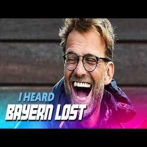 """If you haven't heard: """"Bayern lost"""" by Klopp"""