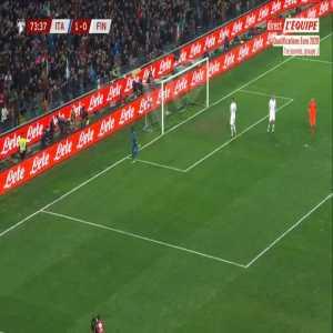 Italy 2-0 Finland - Moise Kean 74'