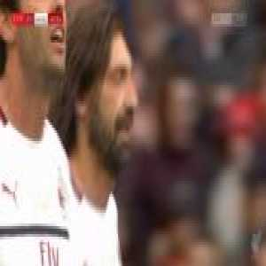Liverpool Legends 2-[1] Milan Legends - Andrea Pirlo free-kick 61'