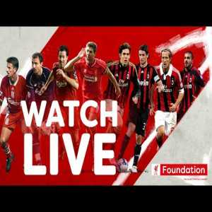 Liverpool Legends v AC Milan Glorie | The rematch of the 2005 Champions League final | Charity match
