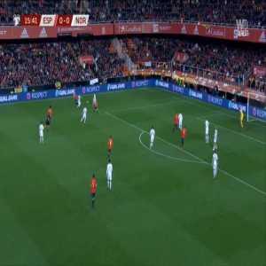Spain 1-0 Norway - Rodrigo 16'