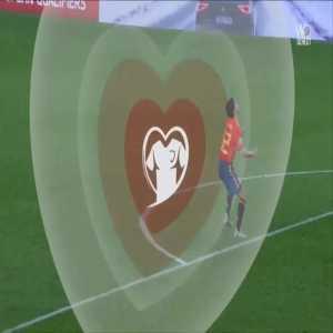 Spain 1-[1] Norway - Joshua King penalty 65'