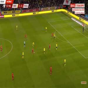 Sweden 2-[1] Romania - Claudiu Keseru 58'