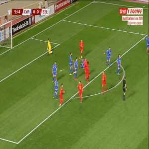 Cyprus 0-1 Belgium - Eden Hazard 10'