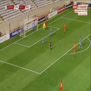 Cyprus 0-2 Belgium - Michy Batshuayi 18'