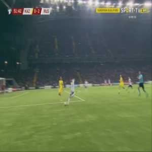 Kazakhstan 0-3 Russia - Artem Dzyuba 52'