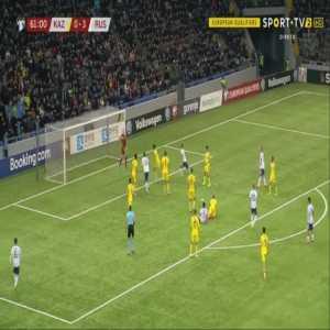 Kazakhstan 0-4 Russia - Abzal Beysebekov OG 62'