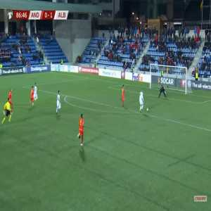 Andorra 0-2 Albania - Bekim Balaj 87'