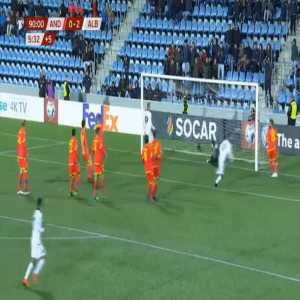 Andorra 0-3 Albania - Amir Abrashi 90'+6'