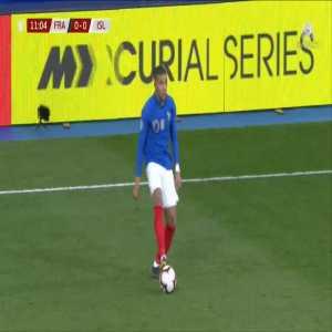 France 1-0 Iceland - Samuel Umtiti 12'