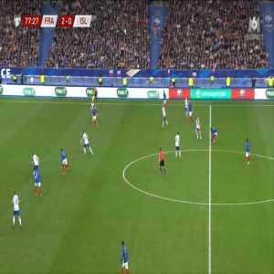 France 3-0 Iceland - Kylian Mbappe 78'