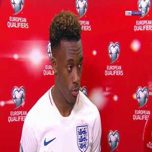 Hudson-Odoi calls for UEFA to take action after England win marred by racist chanting.