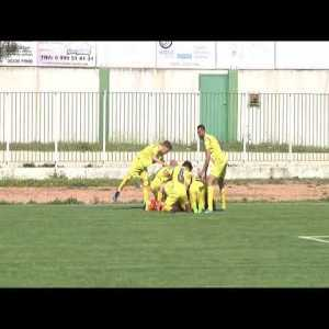 Impressive goal on greek 3rd tier league