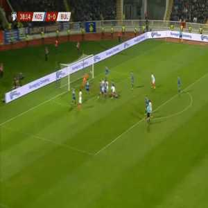Kosovo 0-1 Bulgaria - Vasil Bozhikov 39'