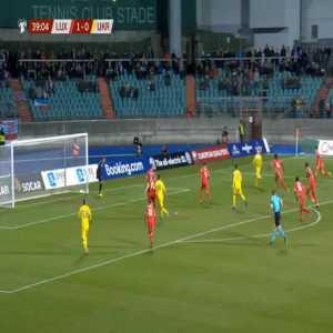 Luxembourg 1-[1] Ukraine - Viktor Tsygankov 40'