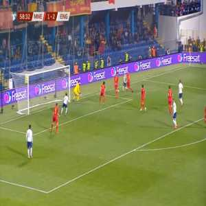 Montenegro 1-[3] England - Ross Barkley 59'