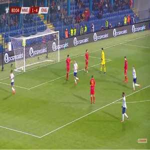 Montenegro 1-[5] England - Raheem Sterling 81'