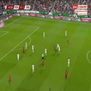 Portugal [1]-1 Serbia - Danilo Pereira 42'