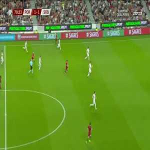 Portugal opportunity vs Serbia
