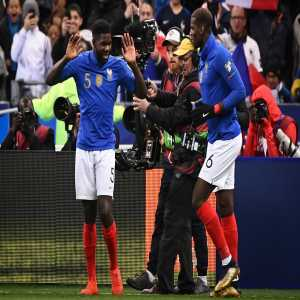 Samuel Umtiti scored the first goal and has completed 100% of his passes v Iceland tonight (107/107), a record for a France player over the last 10 years. (@Opta)