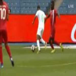 Saudi Arabia [3]-1 Equatorial Guinea - Mohammed Al Khabrani penalty 57'