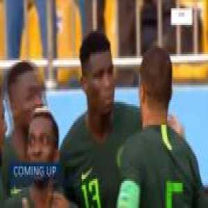 Nigeria 1-0 Egypt - Paul Onuachu 1'