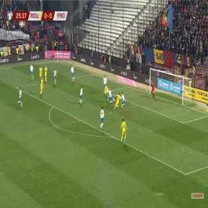 Romania 1-0 Faroe Islands - Ciprian Deac 26'