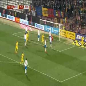 Romania 3-0 Faroe Islands - Claudiu Keseru 32'