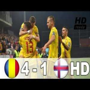 Stanciu, nice pass for Deac. Romania - Faroe Islands (4-1)