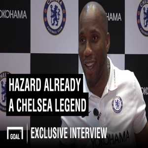 Goal.com on Twitter: We spoke to Didier Drogba about Eden Hazard, David Luiz and everything else Chelsea!
