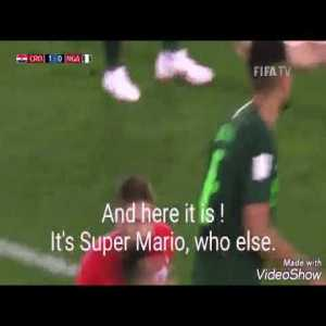 Interesting translation of Croatian commentator during the World Cup Croatia's road to the final it's something special