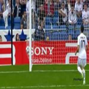 In my opinion, Messi's goal in 2011 against Madrid is his best for several reasons.  First, it was a complete solo effort. No players helped him off the ball, no runs were made, no space was opened up for him. It was just Lionel Messi from start to finish.  Secondly, the symbolism behind that goal. It was an El Clasico in the UCL away to his biggest rivals. As Busquets laid the ball off for Messi, it was as if the whole stadium alongside all the players (except Ramos, Marcelo, Diarra, and Casillas) just froze to witness the moment. The Guardiola Mourinho rivalry was at its peak then and it was just an indescribable moment, especially considering how Jose's Inter knocked them out the year before.