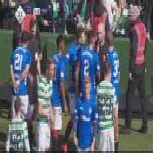 Alfredo Morelos (Rangers) straight red card agianst Celtic 31'