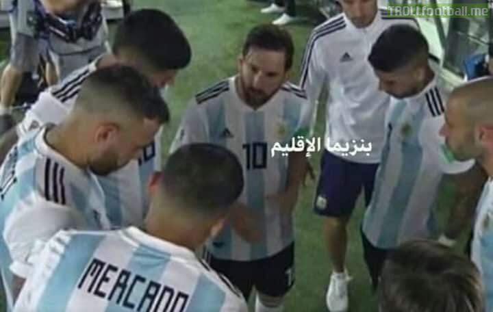 """Messi: """"Listen now, Higuain has retired, so put all the blames on Dybala"""" 😂😂😂😆😆"""