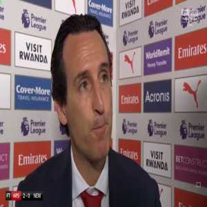 """Emery [Skysports]: """"Mesut Ozil has quality, when he can find the best performance for the team, he is playing like we want with the system & how tactically we want. He is giving us his quality... Aaron Ramsey is happy, he is helping us & is playing with a very good performance and scoring."""""""