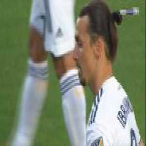 Los Angeles Galaxy 1-0 Portland Timbers - Zlatan Ibrahimovic penalty 33'