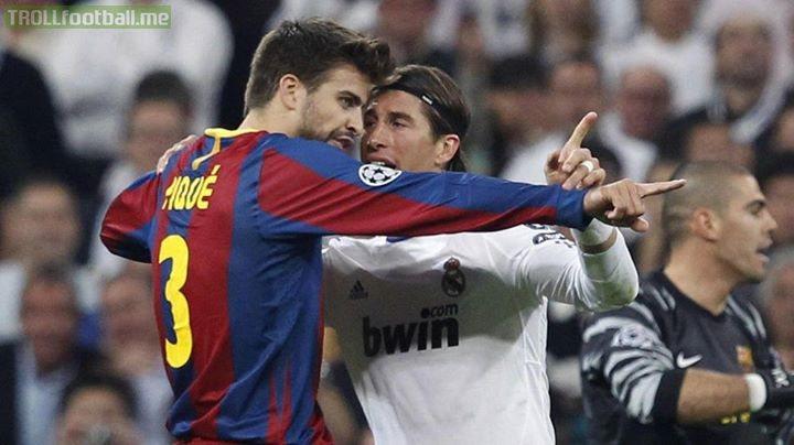Goals conceded since Piqué joined Barca:              Pique    Ramos 08/09  3️⃣5️⃣   5️⃣2️⃣ 09/10  2️⃣4️⃣   3️⃣5️⃣ 10/11  2️⃣1️⃣   3️⃣3️⃣ 11/12  2️⃣9️⃣   3️⃣2️⃣ 12/13  4️⃣0️⃣   4️⃣2️⃣ 13/14  3️⃣3️⃣   3️⃣8️⃣ 14/15  2️⃣1️⃣   3️⃣8️⃣ 15/16  2️⃣9️⃣   3️⃣4️⃣ 16/17  3️⃣7️⃣   4️⃣1️⃣ 17/18  2️⃣9️⃣   4️⃣4️⃣ 18/19  3️⃣1️⃣   3️⃣5️⃣