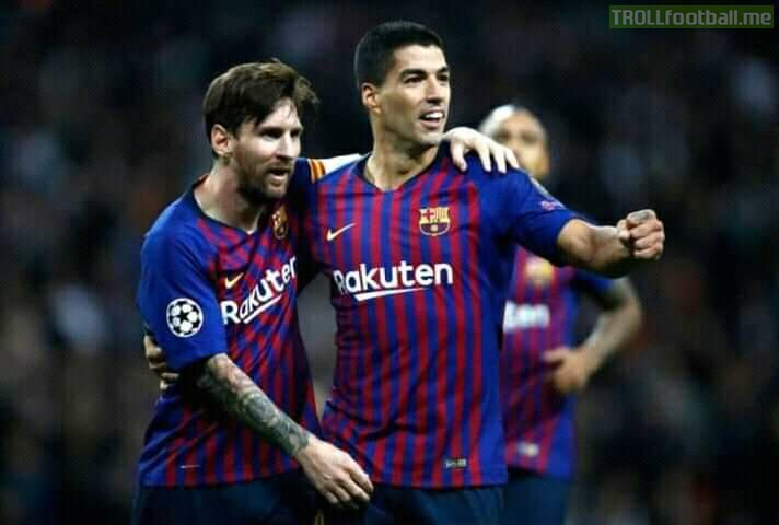 Greatest of all time and greatest striker of all time  Greatest duo in football history after Xavi and Iniesta