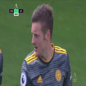 Huddersfield 0-2 Leicester City: Vardy